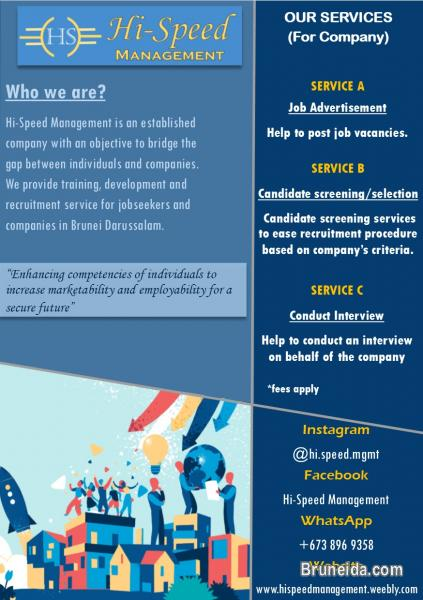 Picture of Employment Opportunity Service!