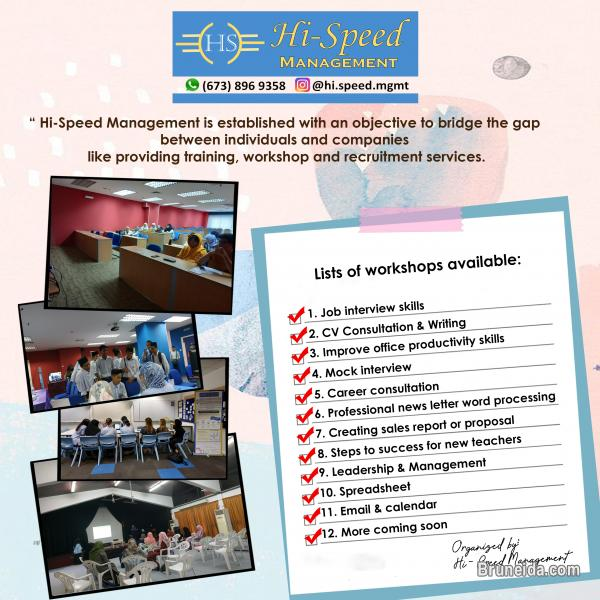 Picture of Lists of workshops available for job seekers: