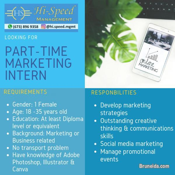 Pictures of Part-time Marketing Intern