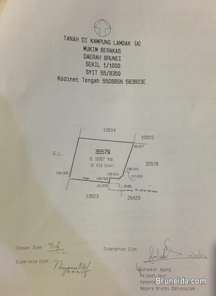Land For Sale in Brunei Muara