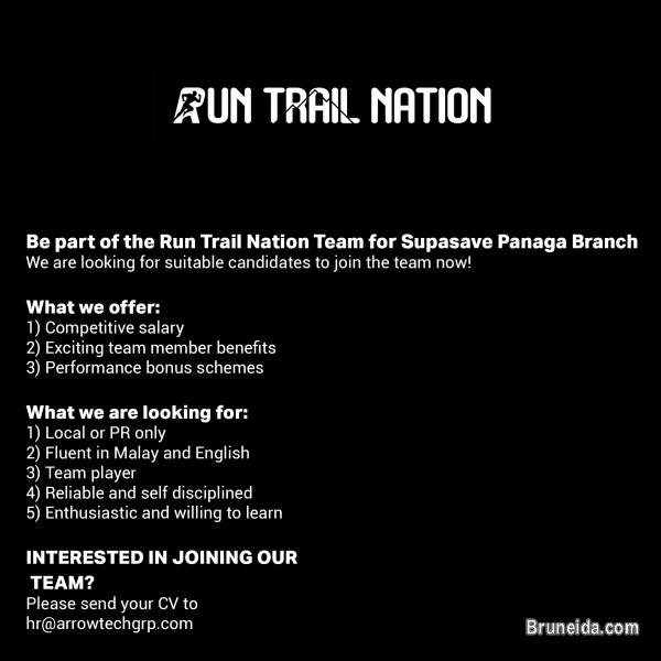 Picture of Sales Assistant - Run Trail Nation Supasave Panaga