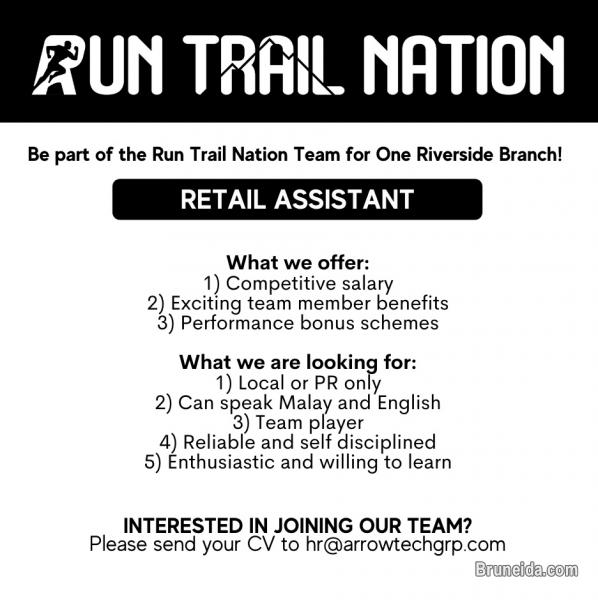 Picture of Retail Assistant at Run Trail Nation