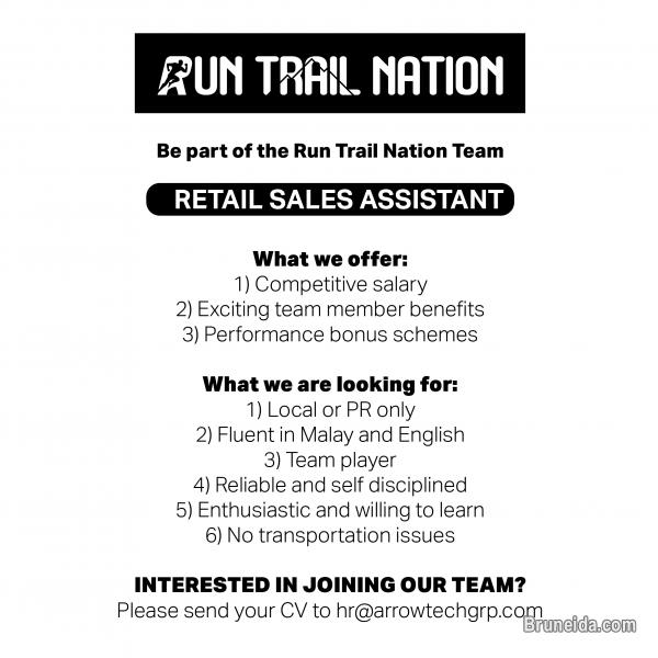 Pictures of Retail Sales Assistant at Run Trail Nation