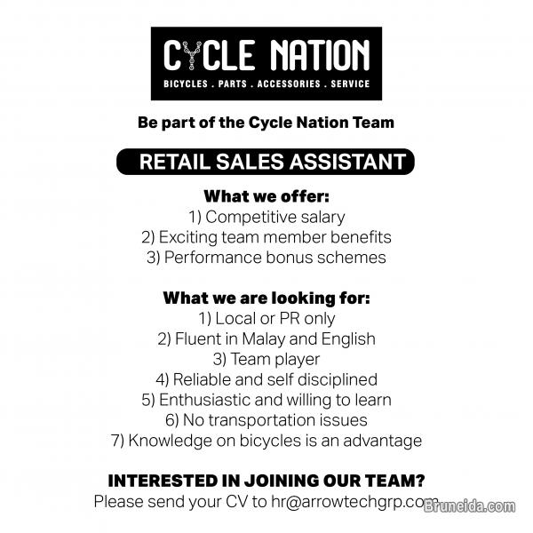 Picture of Retail Sales Assistant at Cycle Nation
