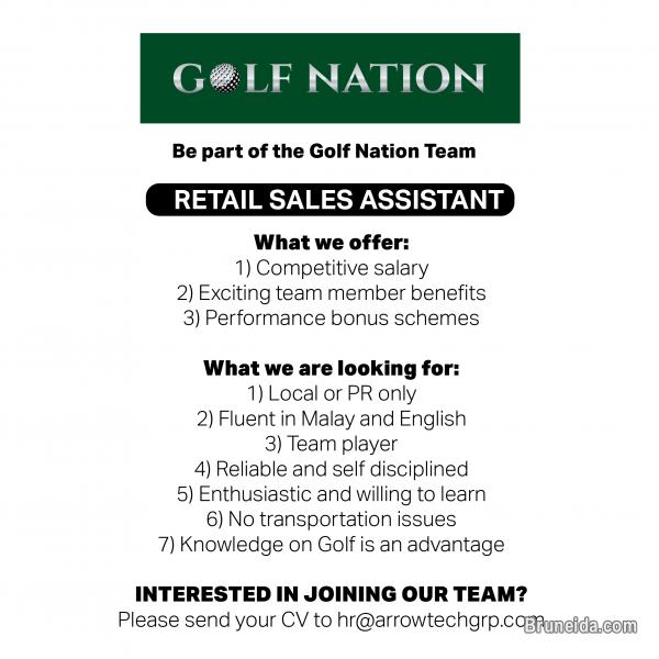 Pictures of Retail Sales Assistant at Golf Nation