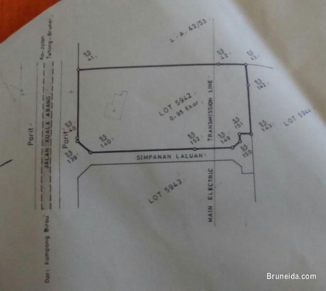 Picture of Tanah 0. 95 ekar (kekal) di Kpg Luagan Timbaran, Tutong utk dijua