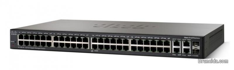 Pictures of For Sale: Used Cisco Small Business Network Switch SG300-52