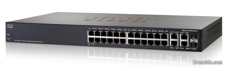 Picture of For Sale: Used Cisco Small Business Switch SG300-28