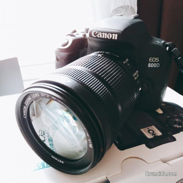 Picture of Canon EOS 800D with EFS 18mm-135mm lens (Rebel T7i) only $1, 100