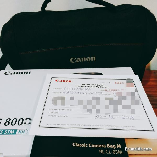 Picture of Canon EOS 800D with EFS 18mm-135mm lens (Rebel T7i) only $1, 100 in Brunei Muara