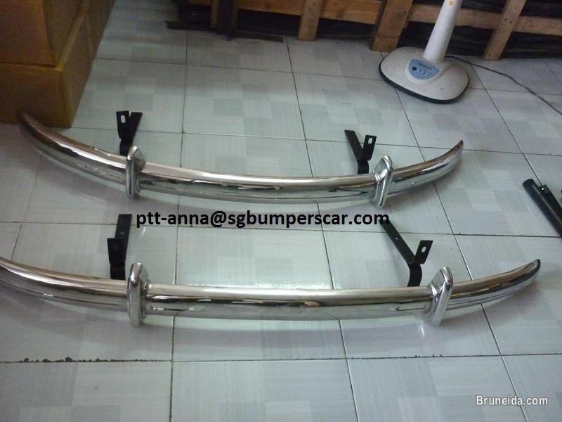 Picture of Volkswagen Beetle Split Front Bumper and rear Bumper