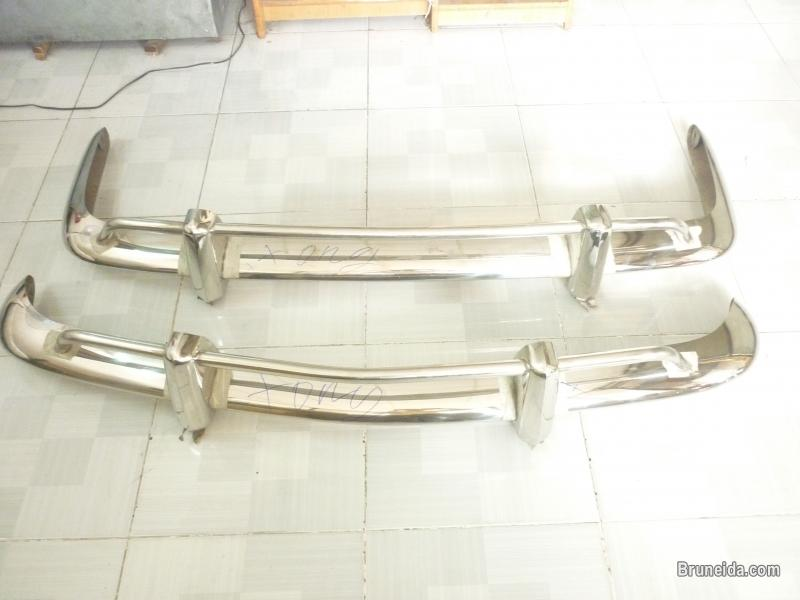 Picture of Volkswagen Karmann Ghia EU Bumper 1956- 1971 in Stainless Steel