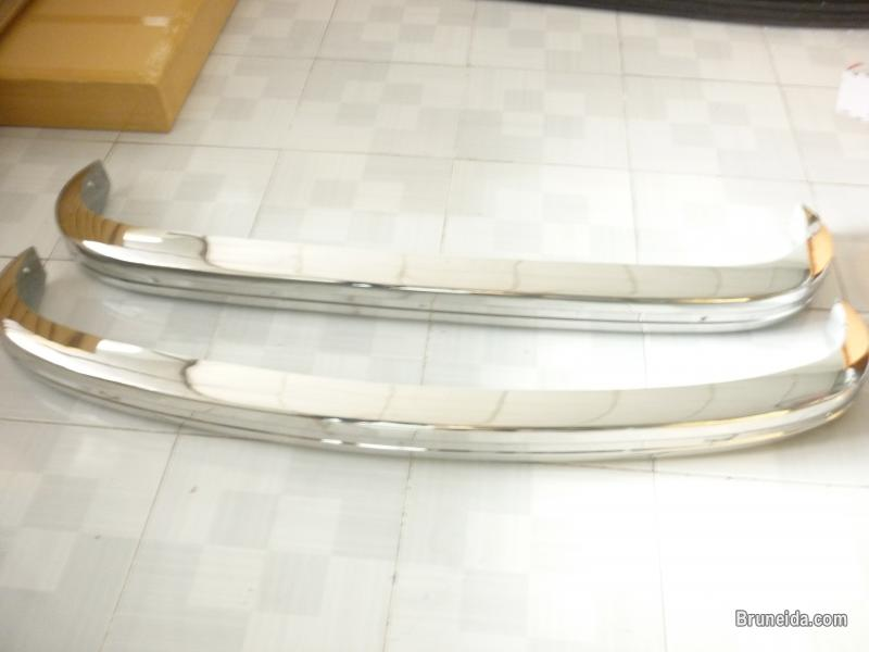 Picture of Volkswagen Karmann Ghia US Bumper 1972 - 1974 in Stainless Steel