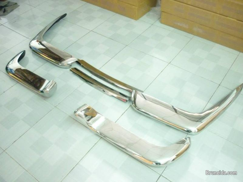 Picture of Volvo P1800 Cow Horn Bumper in Stainless Steel