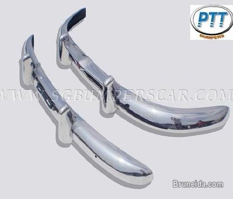 Picture of Volvo PV 444 Bumper 1947 - 1958 in Stainless Steel