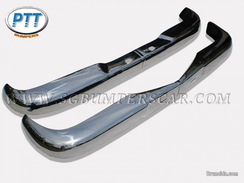 Mercedes W110 Bumper 1961 - 1968 in Stainless Steel - image 2