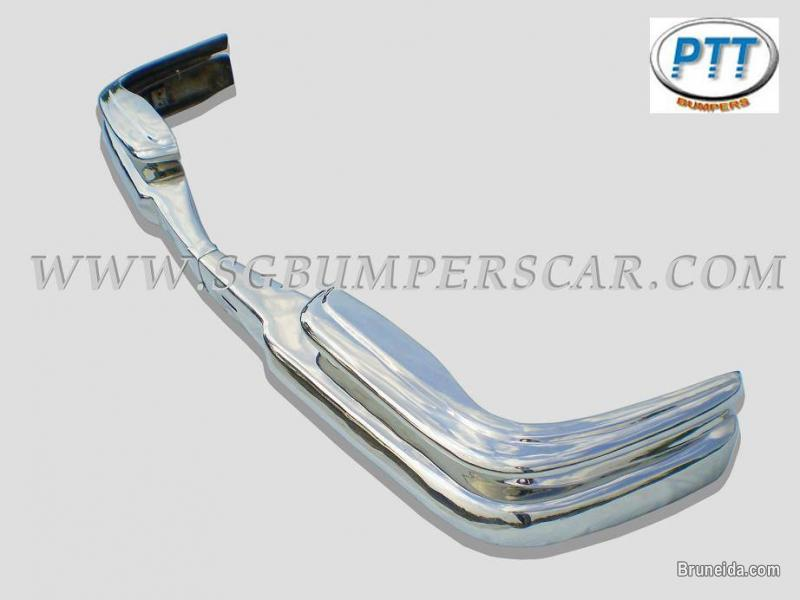 Picture of Mercedes W111 Coupe 2 door Bumper 1959 - 1968 in Stainless Steel