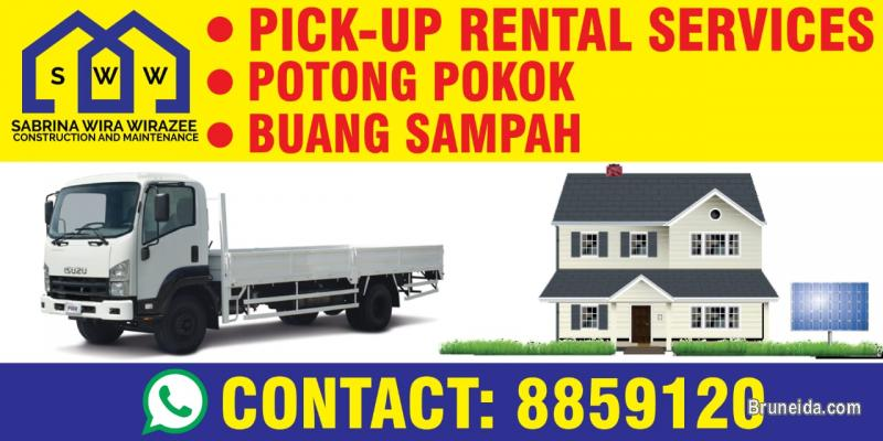 Picture of PICK-UP RENTAL, BUANG SAMPAH & POTONG POKOK