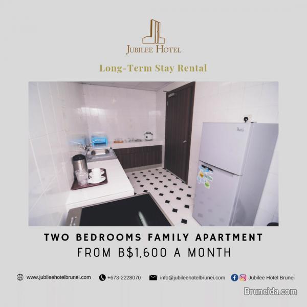 2 Bedrooms Family Suite Apartment in Brunei