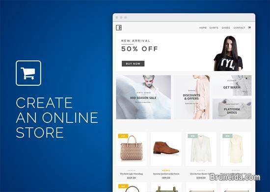 Professional Web Design, Website, eCommerce, Shopping Cart in Brunei Muara