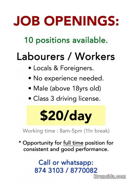 Picture of Workers Needed (Urgent)