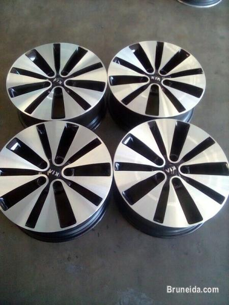 Pictures of Original K5 Rim for Sale.