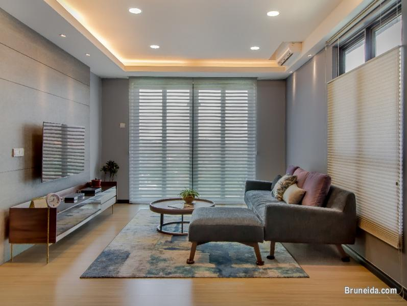 Picture of Window blinds & curtains