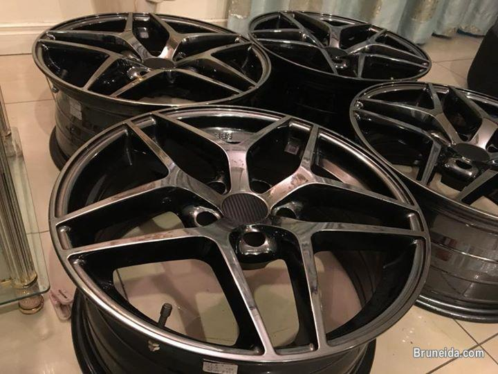 Rimsport BMW 18`` x 8`` ET35 PCD 5x120 for sell or swap.