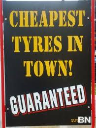 Picture of Tyres Tayar WHOLESALE LOW Price: Lasting and safety