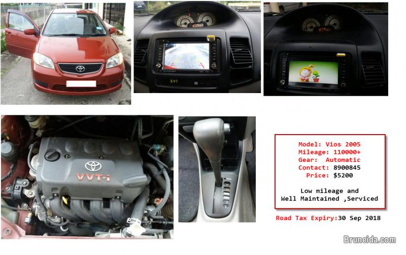 Picture of Vios 2005 Auto Good Condition