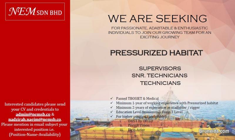 Picture of Pressurized Habitat Crew