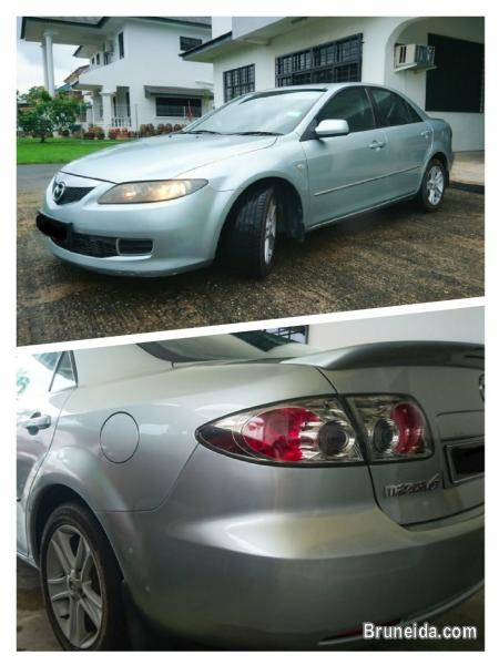 Mazda 6 sport (2nd Version Dual Exhaust)