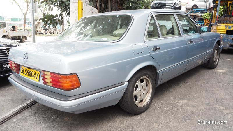 MERCEDES W126 300SEL 1989 STEERING WHEEL (07505) in Temburong