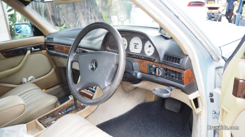 MERCEDES W126 300SEL 1989 STEERING WHEEL (07505) in Brunei