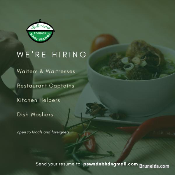 Picture of Restaurant: Hiring for Various Positions!