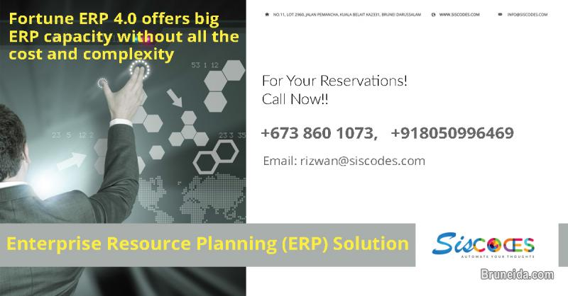 Picture of Best ERP solution for all sectors with many enthusiastic features