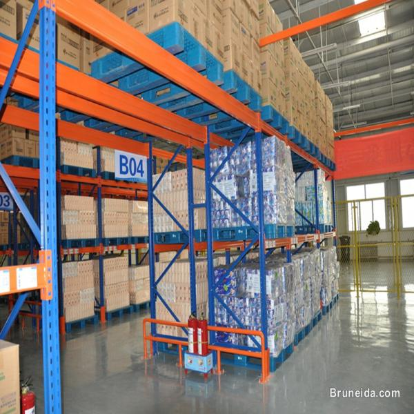 Picture of warehouse racking in Brunei