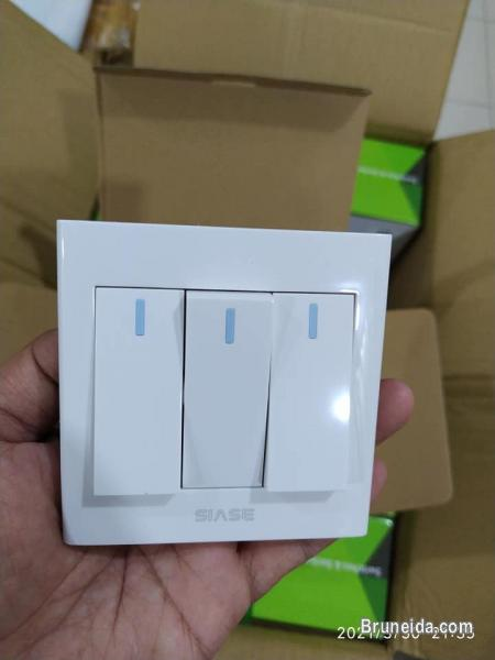 WALL SWITCHES AND SOCKETS in Brunei