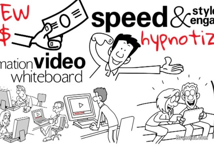 Picture of Create your whiteboard animation video for 1 minute duration