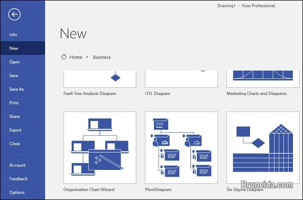 Picture of Generate your Organizational Chart using Visio just for $25