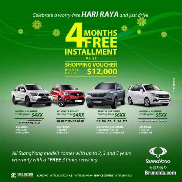 Picture of SsangYong Hari Raya Deals
