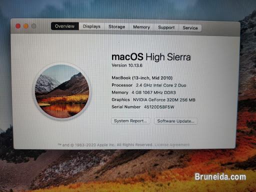 Macbook for sale $450 (Nego)