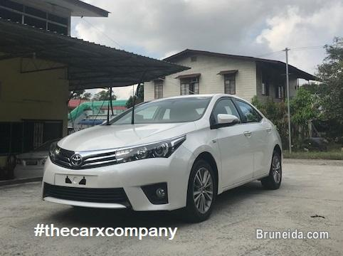 Picture of Toyota Corolla altis 1. 6 auto model2016 (Imported used car)
