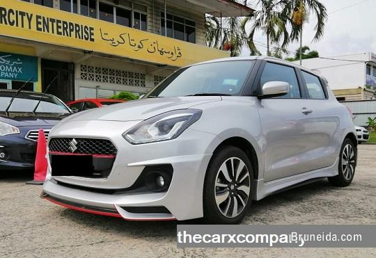 Picture of Suzuki Swift 1. 2 GLX auto with bodykit model2018