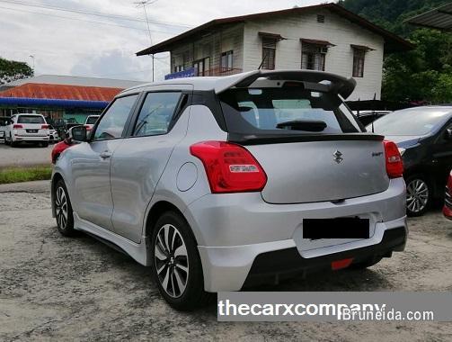 Suzuki Swift 1. 2 GLX auto with bodykit model2018 in Brunei Muara