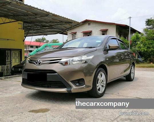 Picture of Toyota Vios 1. 5 manual with alloy rim model2013