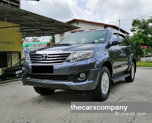 Picture of Toyota fortuner 3. 0 auto 4wd with trd bodykit model2014