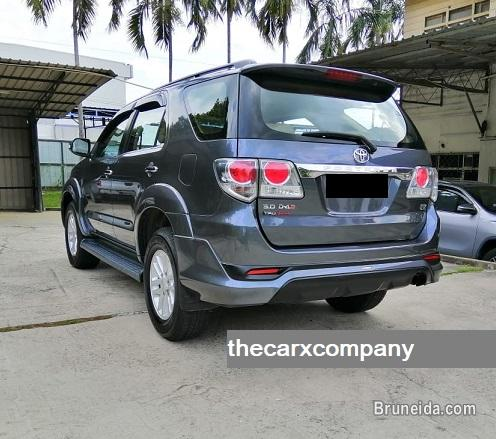 Toyota fortuner 3. 0 auto 4wd with trd bodykit model2014 in Brunei Muara