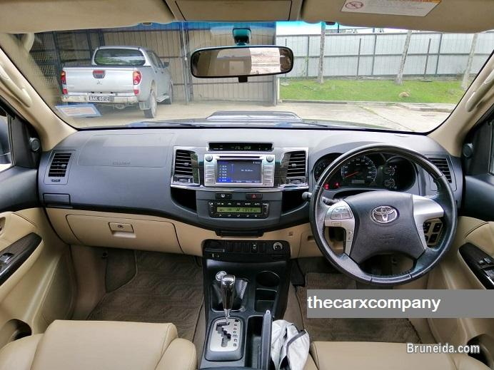 Toyota fortuner 3. 0 auto 4wd with trd bodykit model2014 in Brunei