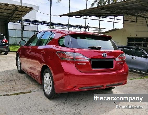 Lexus CT200H 1. 8 auto model2011 (Brunei used cars) in Brunei Muara
